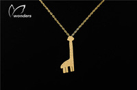 $10 free shipping pendant New Style tattoo choker belly chain Exaggerate cute giraffe Necklace