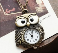 3pcs/lot Hot selling new deisgn wholesale jewelry alloy classic lovely antique bird pendant pocket watches