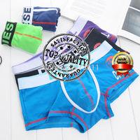 Hot Sale Men Boxer Men's Sexy Underwear Boxers Cotton Mens Shorts 5Colors For Choose