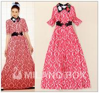 2015 spring new fashion long dress brand long dress quality