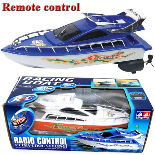 Powerful Double Radio Remote Control RC Boats Racing Speed Electric Toys Model Ship Children Gift RC Boats Ship GWWJ38(China (Mainland))