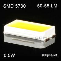 Free Shipping Ultra Bright 0.5w Led Smd 5730 50-55lm 5630 Smd Leds Warm White Light Smd for Led Strip Par Light Smd Leds Light