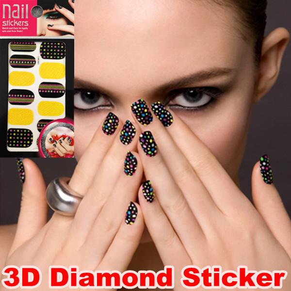 Наклейки для ногтей No Brand 20 Styls 5sets/3d DIY Z01-Z5