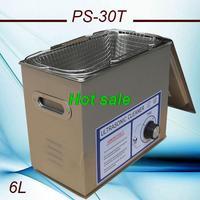 globe AC110/220V ultrasonic cleaner machine 6L 180W 40KHZ  timer For Laboratory  PCB hardware