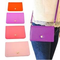 2014 New Women's Soft Leather phone bag  women mulfunction cross bag  Clutch Wallet Long PU Card Purse Handbag Free Shipping