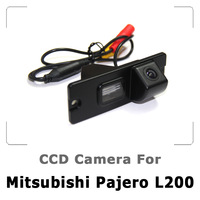 Car Rear view Camera Special For Mitsubishi Pajero L200 with CCD Sensor, IP67/68 Waterproof, HD Night Vision Free Shipping