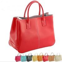 2014  Fashion Elegant Women Leather Handbags New Women messenger bags Brand Designers handbag Classic Multicolour  Bags WM136