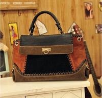 hot sale fashion retro winter colorfull denim handbag crossbody shoulder bag women messenger bags WM125