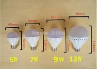 Led Lamp E27 E14 B22 220V 3w 5w 7w 9w 12w 15w 40w led bulbs SMD 2835 220V  Led lamp Warm cold White Energy Saving Led spotlight
