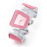 Hot Sale Women's Dress Watch Candy Color Fashion Casual Watch Irregular Case Analog
