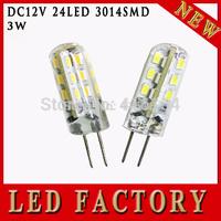 High Power SMD3014 3W 12V G4 LED Lamp Replace 20W halogen lamp g4 led 12v LED Bulb lamp warranty 2 years Freeshipping