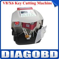 2014 Newest Automatic V8/X6 Key Cutting Machine V8/X6 Auto Key Programmer Fast Shipping