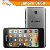 "Original Lenovo S660 4.7"" IPS QHD Screen MTK6582 Quad Core 1G Ram 8GB Rom Android 4.2 WCMDA Dual Sim GPS 8.0MP Camera 3000mAh"
