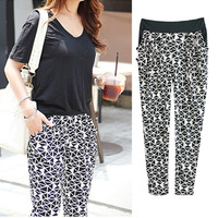 L/XL/XXL/XXXL/4XL/5XL plus size women harem pants elastic summer trousers casual female slacks for women  new 2014 QT897