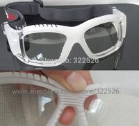 wholesale basketball tennis football soccer sports goggle eyewear, hole nose pad, optical  lens for nearsighted myopia optional