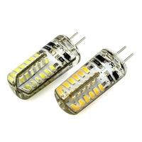 Prevalent! LED Lamp G4 48 3014 SMD 3.6W 12V DC Warm White 2800K-3500K 5500K-6500K Angle 360 260Lumen