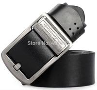 First Layer Leather Men Vintage Belt Fashion Buckles Men Jeans Strap Cinto Man Belt Gifts New 2014 M123 cinturon pin buckle