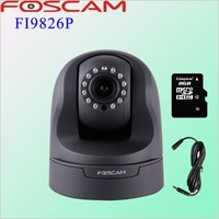 Foscam Black FI9826P 3x zoom H.264 1.3Megapixel HD Pan/Tilt/Zoom Wired/Wireless CCTV Security IP Camera gsm alarm system