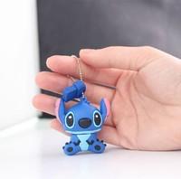 Fashion hotsale cartoon novelty stitch u disk cute mini pen drive16gb gift usb flash card drive U disk