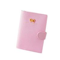 Fashion New Ribbon Passport Holder Documents Bag Sweet Trojan Travel Passport Cover Card Case