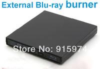 Free shipping brand new USB 2.0 Blu-ray Burner External Blu Ray writer for Desktop / laptop / netbook