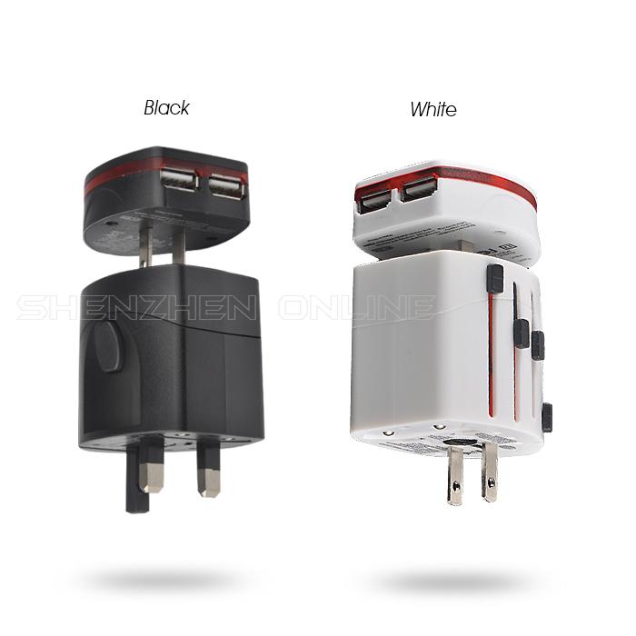 Электрическая вилка SZOL , 2 USB 110V 220V SZOL185