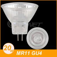 10 MR11 GU4 Warm White Home Halogen Light Lamp Bulb DC 12V 20W