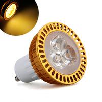 GU10 Warm White 3 LED Dimmable Spot Light Lamp Bulb Energy Saving 3W Umbrella