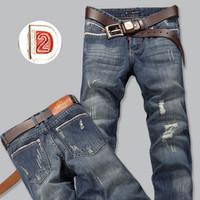 2014 New Free Shipping Mens Jeans ,2014 Fashion Designer Brand Men Jeans Denim Pants Mans DSQ  Designer Jeans,Large Size 589