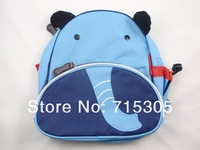 Free Shipping+Wholesale Children backpack kid's satchel Kindergarten animal bags school backpacks,30pcs/lot