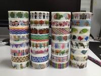 1627 patterns diy masking tape Stickers Cute decorative Japanese grid ,dot,choose bogota design decor ativeadhesive tape