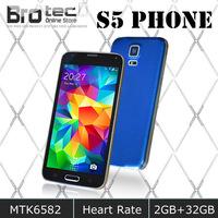 "DHL EMS free Fingerprint Waterproof HDC S5 I9600 Phone 2GB RAM 32GB ROM MTK6592 Octa core MTK6582 Smart Mobile Phone 5.1"" 16M"