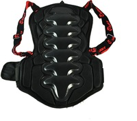 New  professional skiing back support armor skiing pad black skii protector