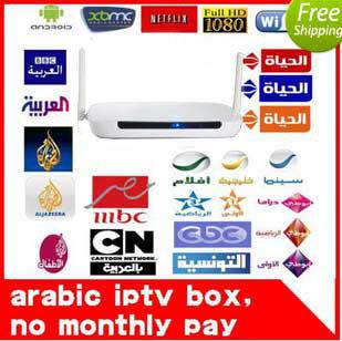 Remote Control Free, Arabic IPTV Box, 700 Plus IPTV Arabic Channel TV Box, Android 4.2 WiFi HDMI Smart Android Mini PC TV Box(China (Mainland))