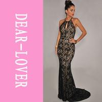 2015 Sexy Ladies Evening Elegant Black Lace Nude Illusion Open Back Maxi Long Gown Dress  LC6272  femininas vestidos de renda