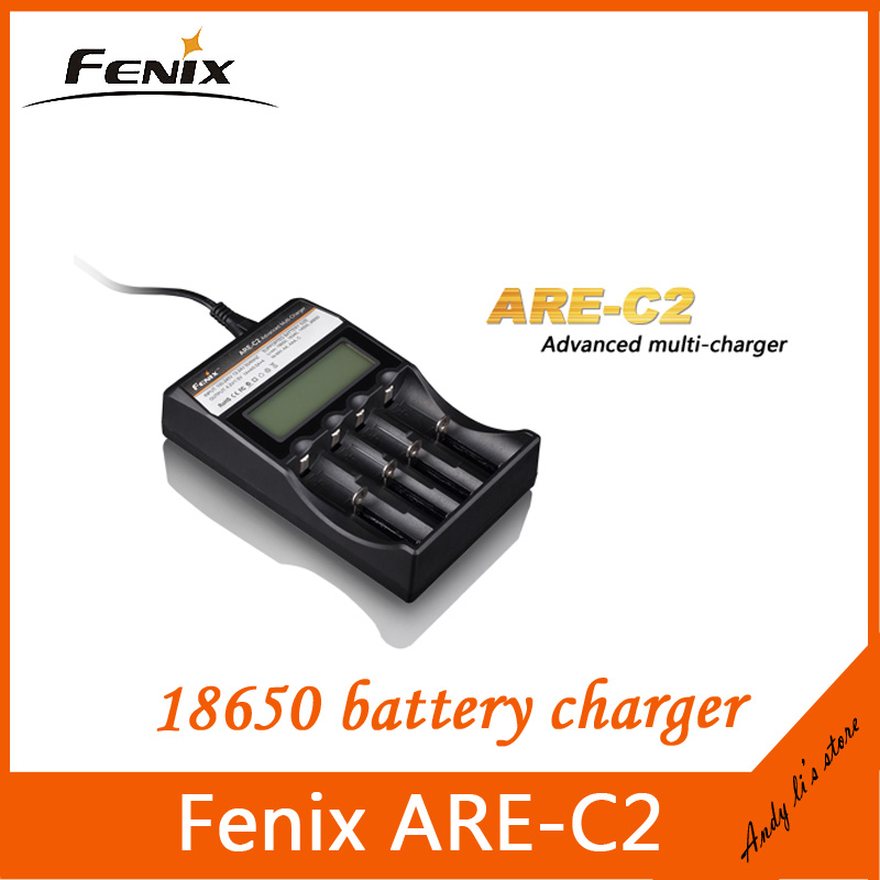 Зарядное устройство Fenix C2 lipo lcd ( ) 18650 16340 aa aaa Fenix ARE-C2 charger fenix удобная спортивная фара