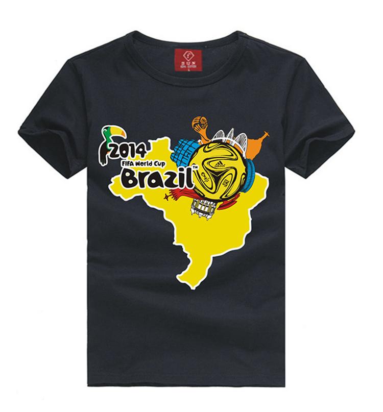 new 2014 men's clothing casual t-shirt fashion short sleeve t-shirts:spring summer male sport tshirt 100% cotton o-neck tee(China (Mainland))