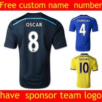 Chelsea Jersey  new  women  2015 soccer jersey  Chelsea FC Home Torres Hazard Lampard Oscar Football Shirt 14 15