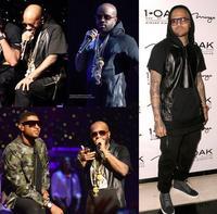 Hoodie T-shirt Plus size Patchwork PU leather zipper black male man short-sleeve T shirt Tee Pyrex rap hip-hop hiphop hip hop