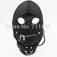 Female Slave Hoods PVC Leather Hood Mask Fetish Fantasy Sex Toy For Adult Sex Game