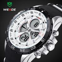Relogio Masculino Weide Whatch Men Saat Analog + Digital dispaly Watches Men Luxury Brand Hodinky Waterproof Relojes De Marca