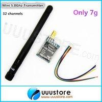 2015 hot sell,original TS5823 5.8G 5.8GHz 200mW 32CH Mini FPV wireless audio vedio AV Transmitter for DJI Phantom 1.5KM range