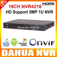Dahua 5MP/3MP/1080P 16CH NVR Recorder 1U 2SATA HDMI Onvif Economical 16 Channel IP Camera NVR3216 Upgrade NVR4216