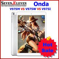 ONDA V975I VS V975M VS V975W 9.7 Inch Touch Screen Tablet Quad Core 2.0Ghz  2GB RAM 16G/32G ROM  Screen 2048x1536 White