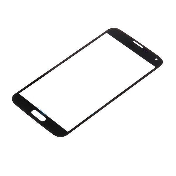 Schwarz weiß beweglichen teile für samsung s5 sm-g9006v g900 g900i frontglas mit versandkostenfrei mit logo