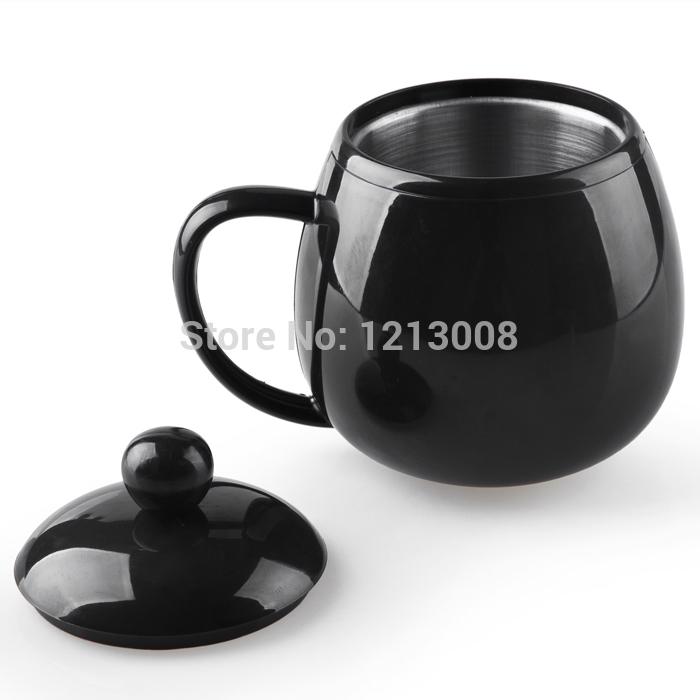 Free Shipping Rechargeable USB Powered Coffee Tea Cup caneca Warmer black Portable use USB thermal mug usb heating cups and mugs(China (Mainland))