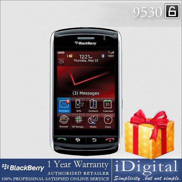 "Original Blackberry 9530 Cell Phone Unlocked 3.25"" TFT Screen 3G 3.2MP Camera Factory Refurbished(China (Mainland))"