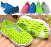 new 2014 spring children shoes boys girls gauze breathable sneakers kids sport shoes children boots