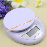 New 2014 Mini Exquisite 5kg 5000g/1g Food Diet Postal Scales Digital Kitchen Scale Weight Balance Digital Scale Cooking Tools