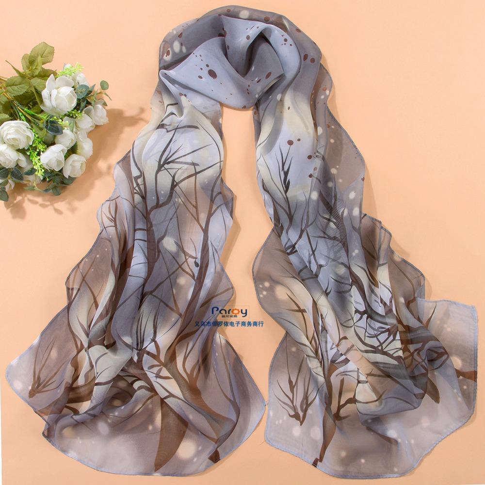 min order $5 2014 fashion women summer spring Accessories scarf pashmina floral shawl cape silk chiffon tippet muffler YN-056(China (Mainland))
